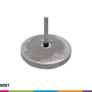 Concrete base 23KG (with pole support)