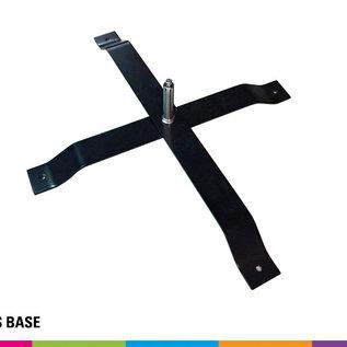Cross base + pin