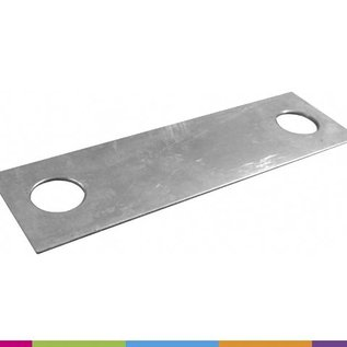 Connection plate for stakes