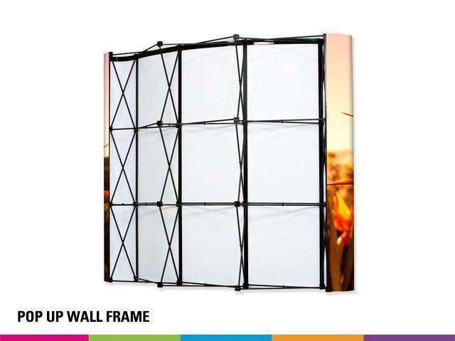 Frame curved 3x3 - reseller krekels net
