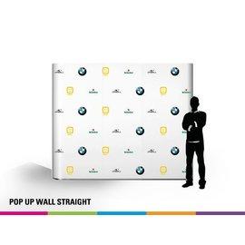 Pop up wall straight 3x3