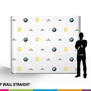 Pop up wall straight 4x3 343x224cm