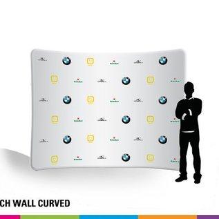 Stretch wall curved 300CM