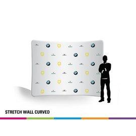Stretch wall curved 400CM
