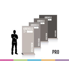 Roll up Professional pro: 85 - 100 - 120 - 150cm breed