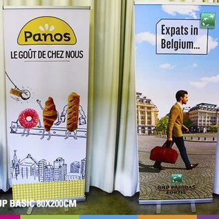 Roll up basic (80 - 100cm x 200cm BXH)