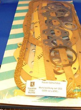 APH 0199-12 Motor pakking set compleet 203