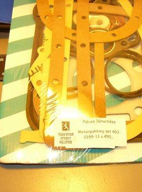 0199-13 Motor pakking set compleet 403
