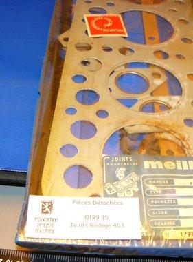 0199-15 Pakking set kop 403