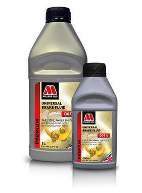 Millers Universele remvloeistof DOT 4 – Brake Fluid Dot 4 Millers Oils