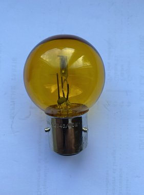 APH 6216-05 Lamp bayonet geel BA21D