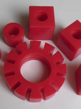 APH 6408-04B Rubbers RW motor set rood