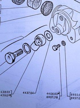APH 4443-01 Banjobout rem cilinder