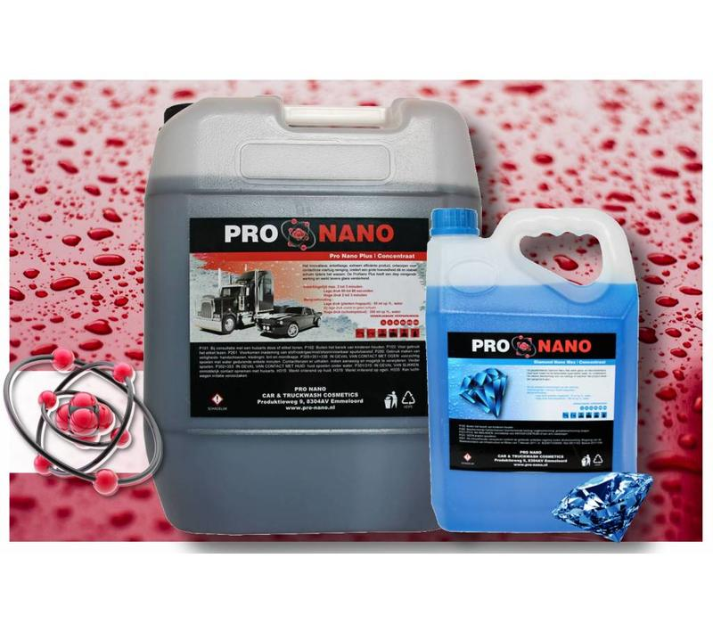 20 Liter ProNano Plus und 5 Liter FREE Diamond Nano Wax