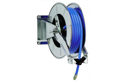 Stainless Steel Hose Reel + Pro Wash Set