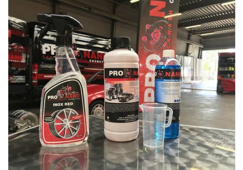 Truckstar Startpakket Inox Red