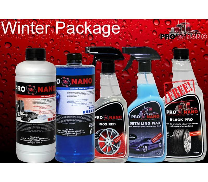 Winter Package (FREE: Black Pro)