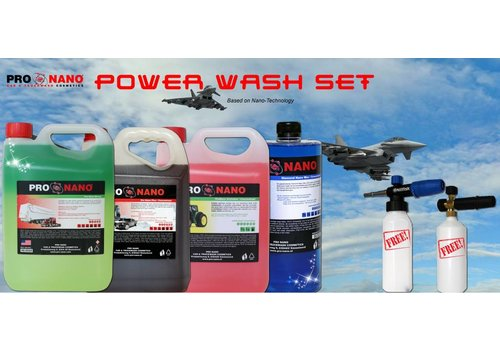 Power Wash Set (FREE: Nilfisk Foam Gun)