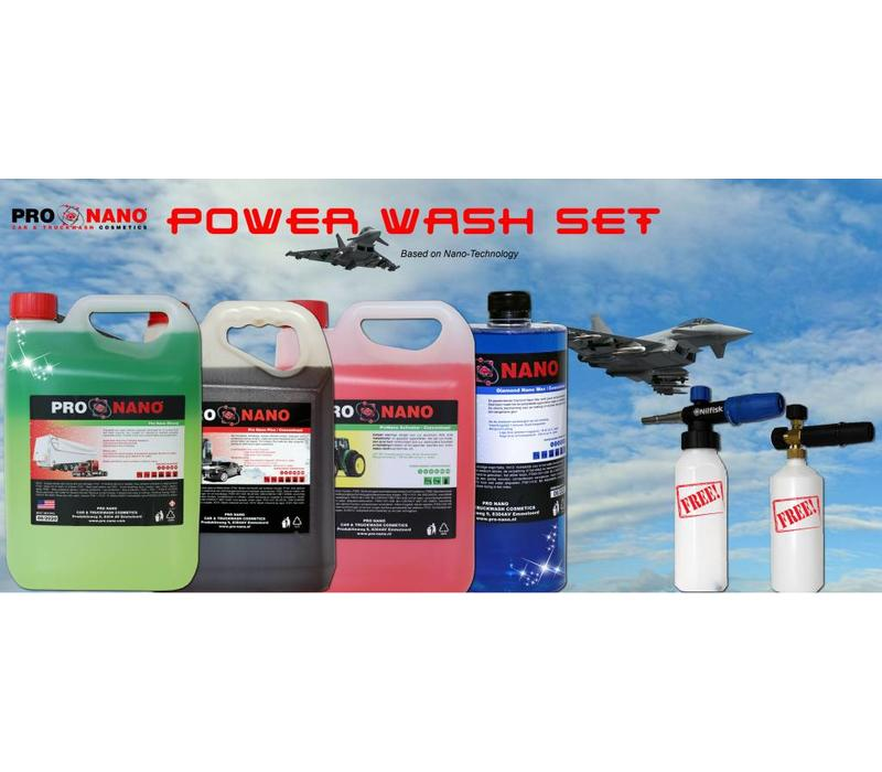 Power Wash Set (FREE: Universal Foam Gun)