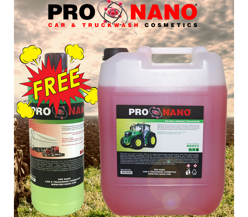 20L Activator Agri + FREE 1L Strong