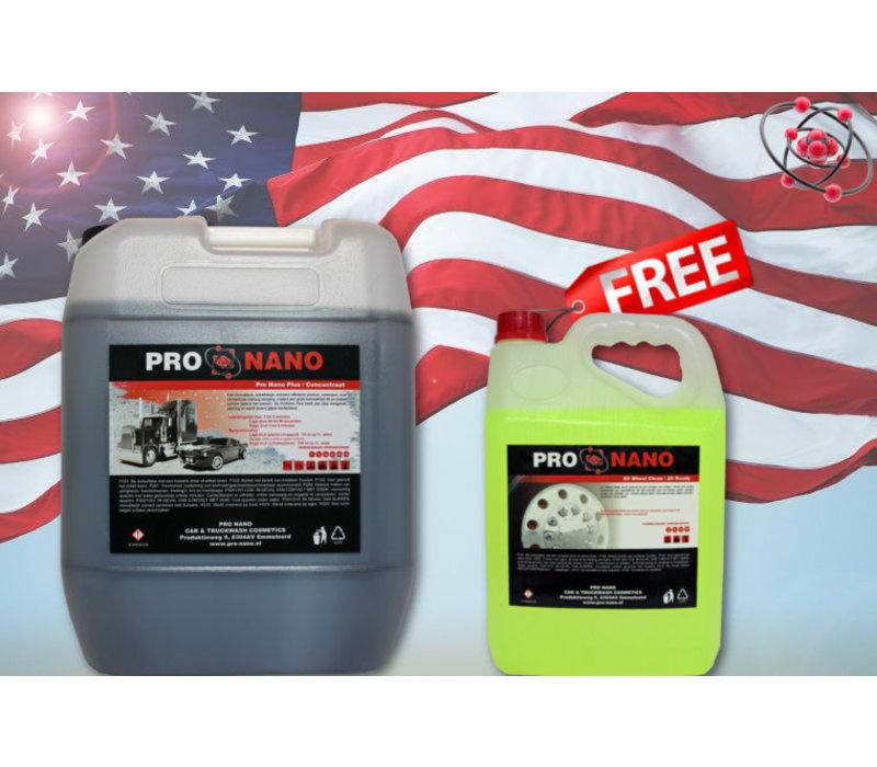 20L ProNano Plus + FREE 5L All Wheel Clean