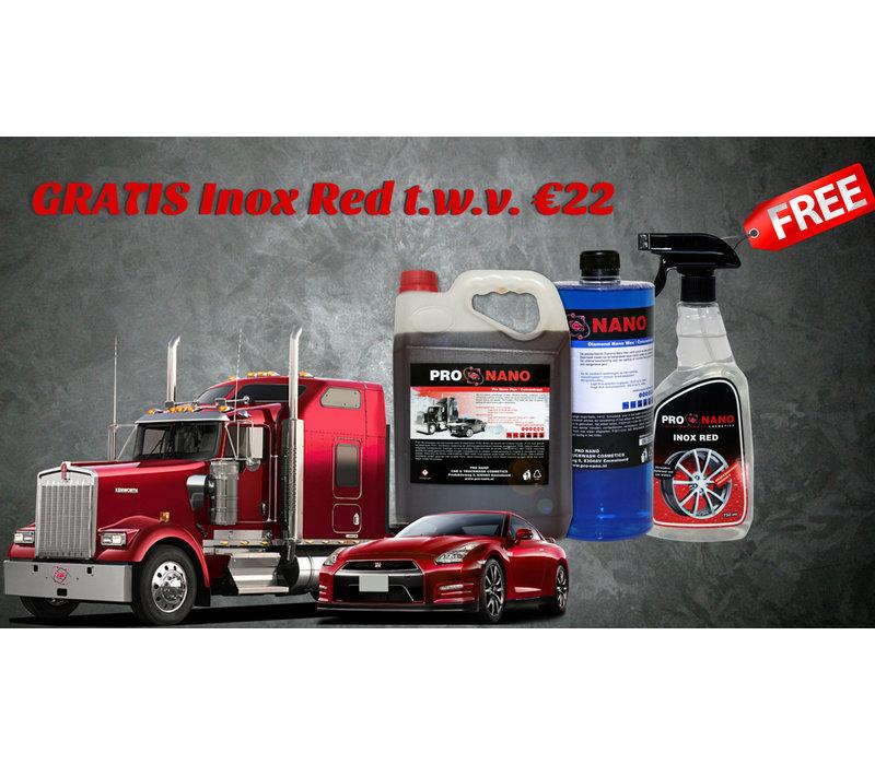 Pinksterdeal + FREE 750ml Inox Red