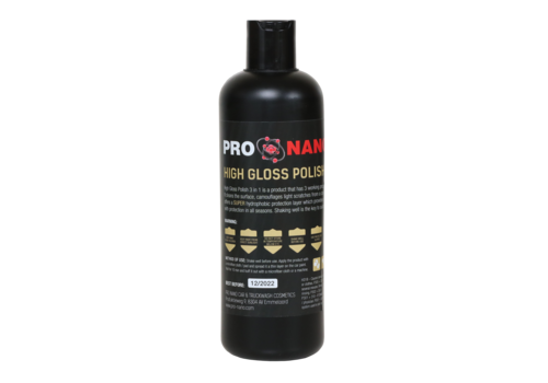 ProNano 500ml High Gloss Polish