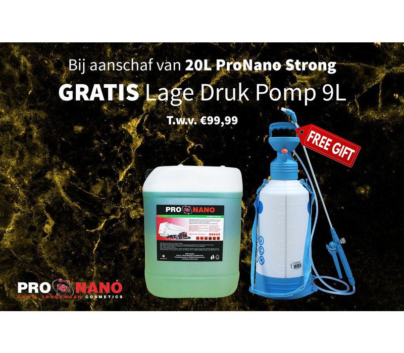 20L ProNano Strong + FREE 9L Low Pressure Pomp