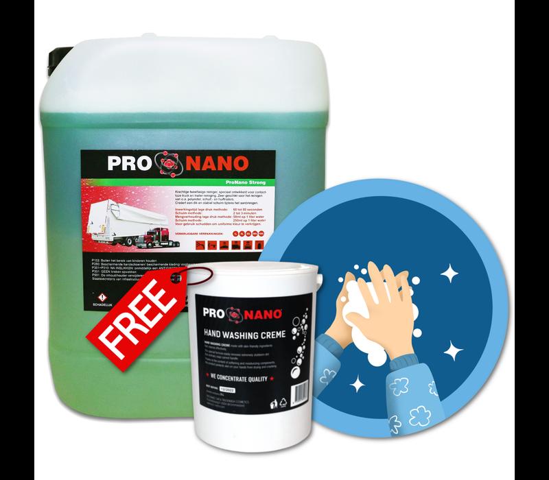 20L ProNano Strong + GRATIS 2,5L Hand Wash Creme
