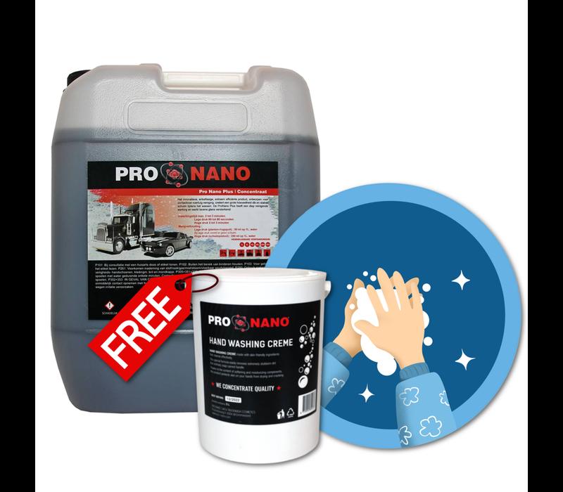 20L ProNano Plus + FREE 2,5L Hand Wash Creme
