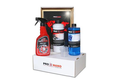 ProNano Starterpaket  Inox Red