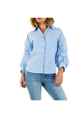 MC LORENE Damen Bluse von Mc Lorene - blue