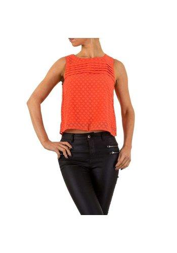 D5 Avenue Damen Bluse von Cutie - orange