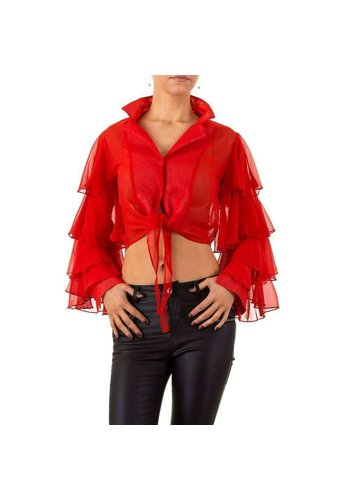 USCO Damen Bluse von Usco - red