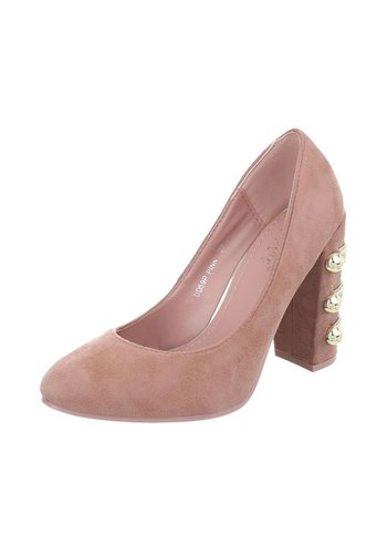D5 Avenue Damen High Heels Pumps - pink