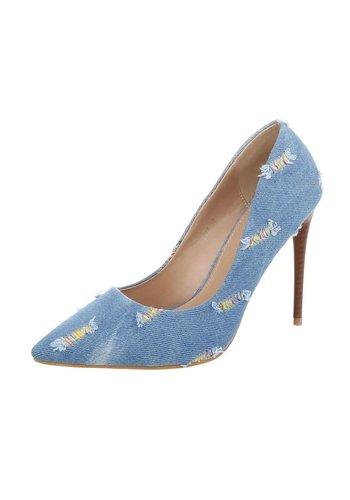 D5 Avenue Damen High Heels Pumps - blue