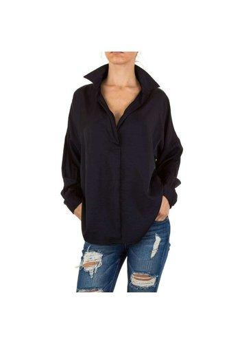 D5 Avenue Damen Bluse - black