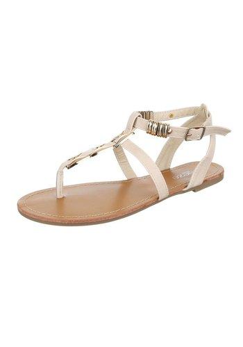 D5 Avenue Damen Sandaletten - beige