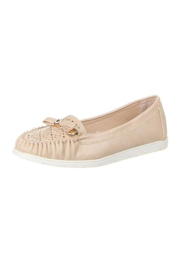 D5 Avenue Damen Mokassins - beige
