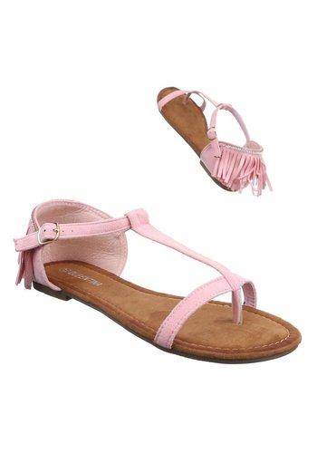 D5 Avenue Damen Sandaletten - pink