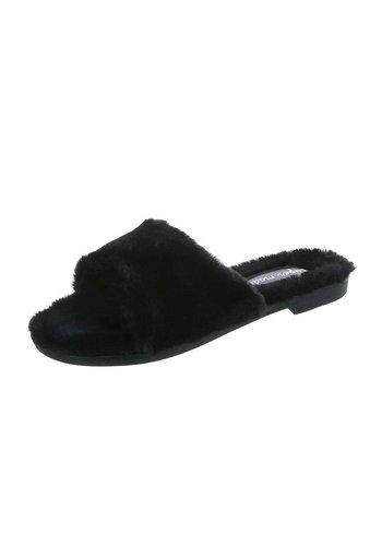 D5 Avenue Damen Hausschuhe - black