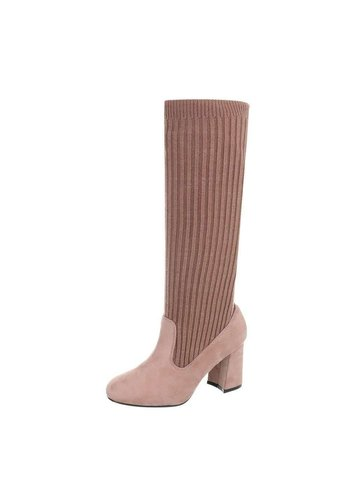 D5 Avenue Damen Stiefel - DK.pink