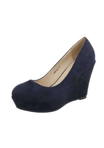 D5 Avenue Damen Keilpumps - blue