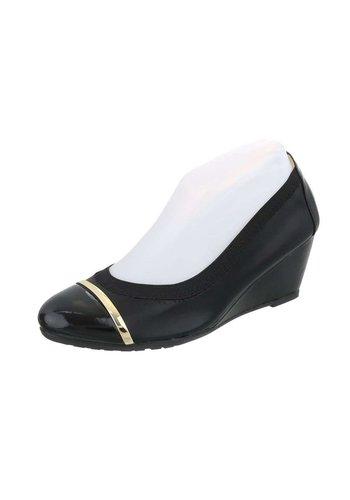 D5 Avenue Damen Keilpumps - black