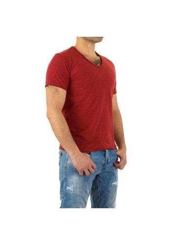 D5 Avenue Herren Shirt von Y.Two Jeans - red