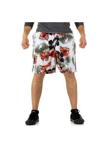 D5 Avenue Herren Shorts von Quianhe - red