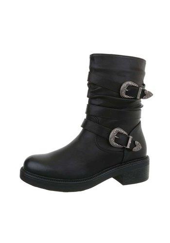 D5 Avenue Damen Klassische Stiefel - black