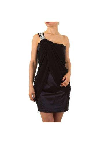 D5 Avenue Damen Kleid von Cotton Club - black