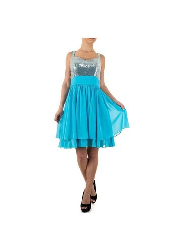D5 Avenue Damen Kleid von Festamo - turkis