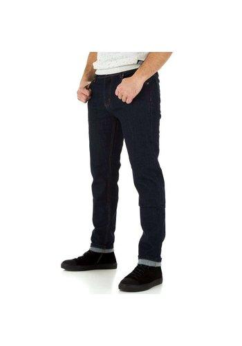 D5 Avenue Herrenjeans von TMK Jeans - D.blau